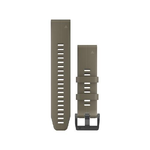 [가민] 퀵핏 22mm 실리콘 밴드 갈색 (Coyote Tan)