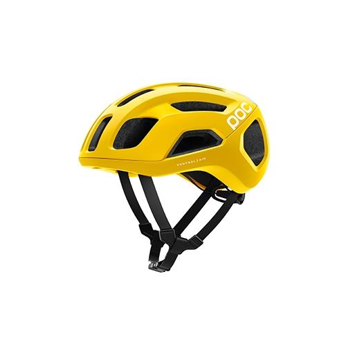 [피오씨] POC 벤트럴 에어 스핀 설페이트 옐로우 매트 헬멧